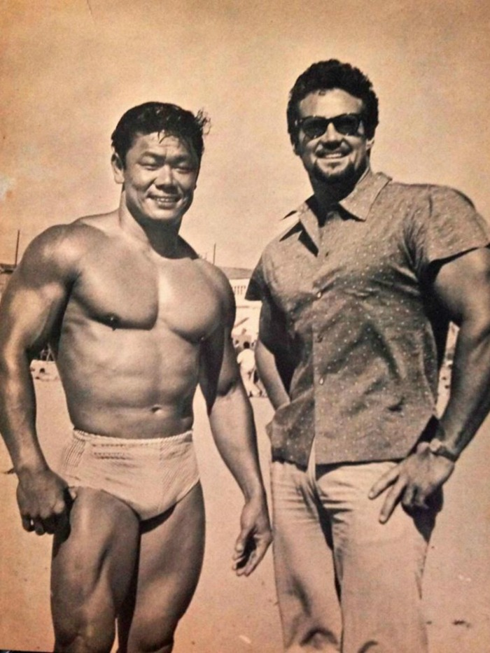 Timmy Leong and Steve Reeves Posing