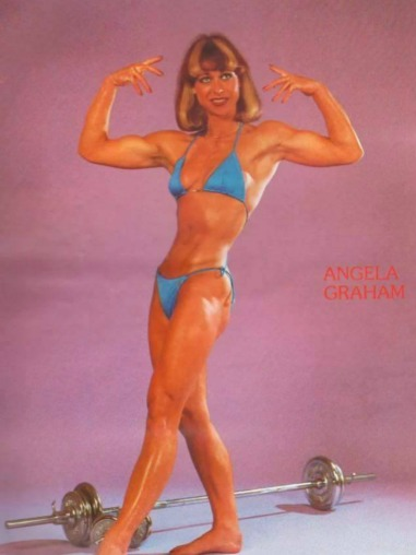 Angela Graham Posing