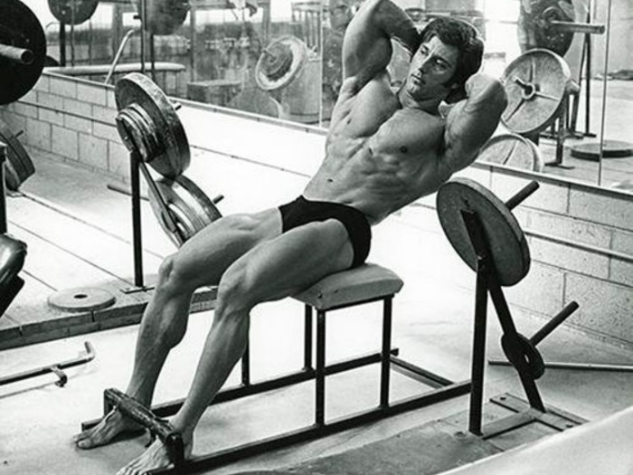 Frank Zane Training Abdominals