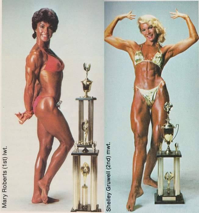 Mary Roberts and Shelley Gruwell Posing