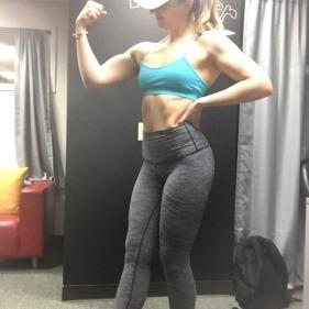 Melissa Jenkins Posing RYS Conscious Fitness