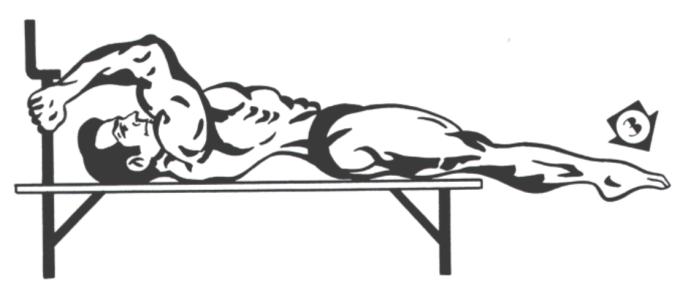 Shoulder Planche on Bench Phase 3