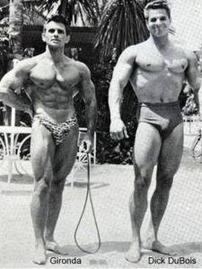 Vince Gironda and Dick DuBois Posing
