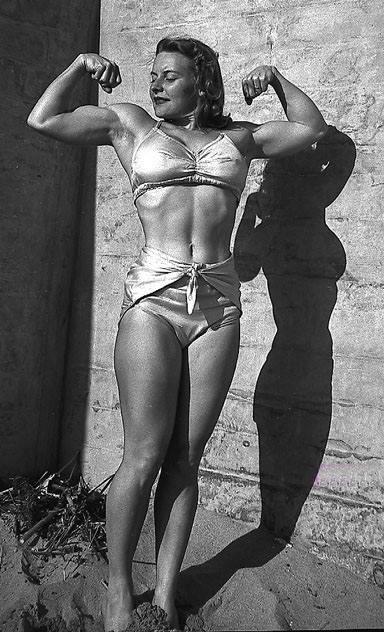 Abbye Eville Stockton Posing