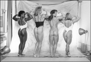 Carla Dunlap Denise Rutkowski Susan Myers Sharon Marvel Posing