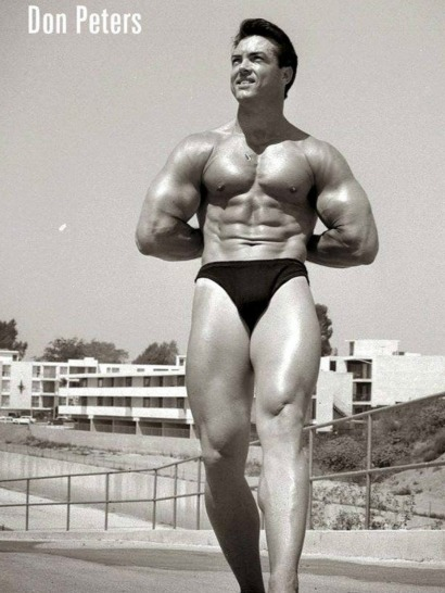 Don Peters Posing