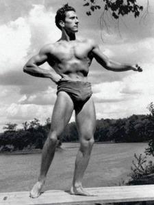 Joe Weider Posing