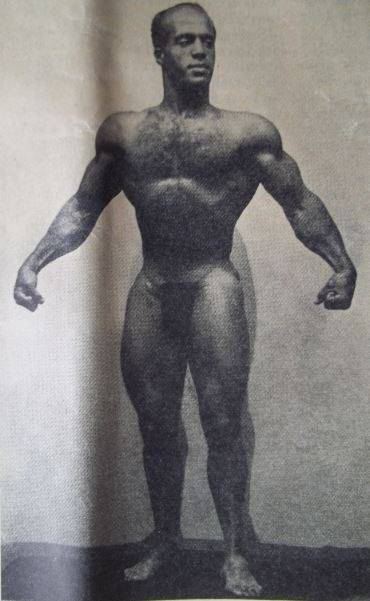Kenneth Pendleton Posing