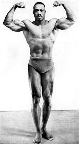 Melvin Wells Posing