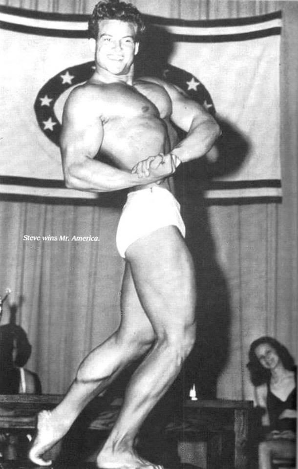 Steve Reeves Posing