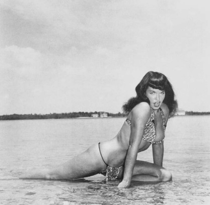 Bettie Mae Page Posing