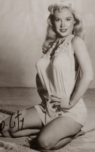 Betty Brosmer Posing