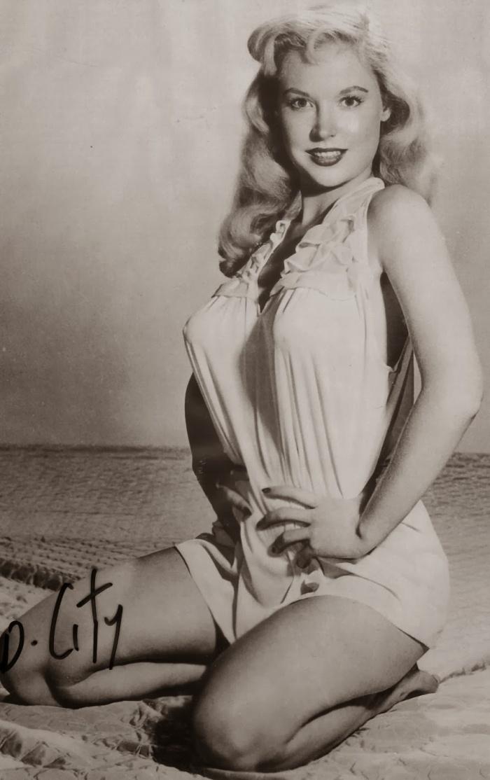 Betty Brosmer Posing