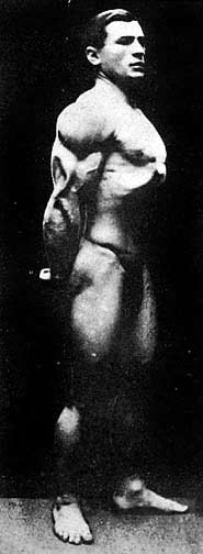 Ernest Cadine Posing