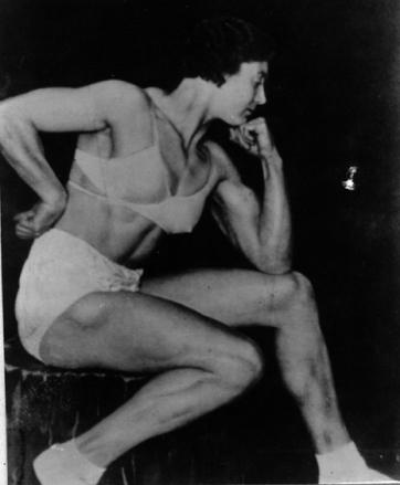 Ivy Russel Posing