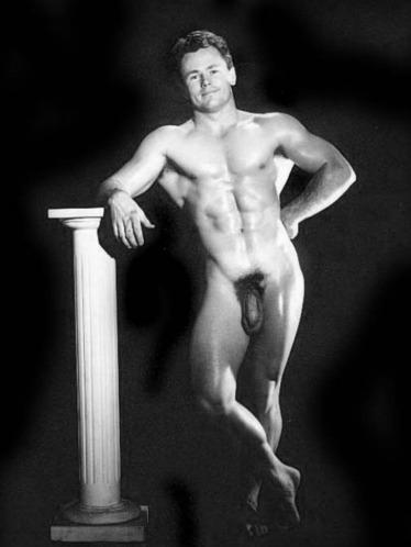 Norman Tousley Posing