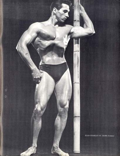 Jean-Charles St. Mars Posing