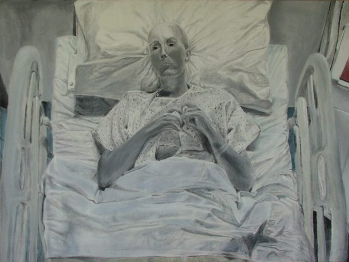 Kezza Moss titled The Growth and Decay of Cancer