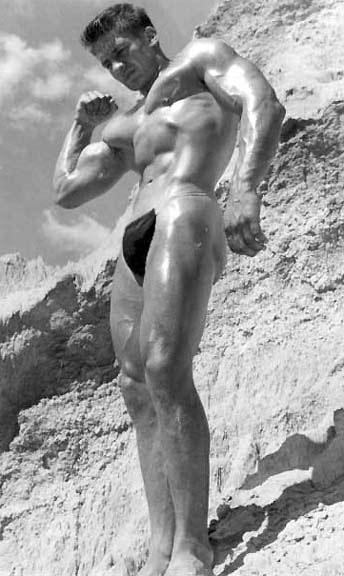 Douglas Baggott Posing