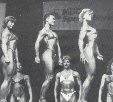 Juliette Bergmann, Erika Mes, Lynn Conkwright Posing