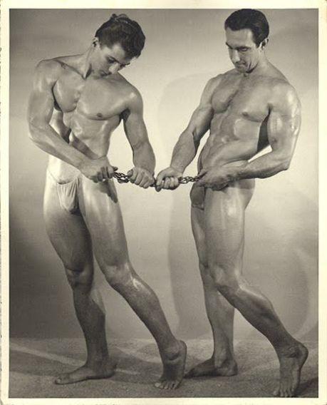 Steve Wengryn and Eddie Williams Posing