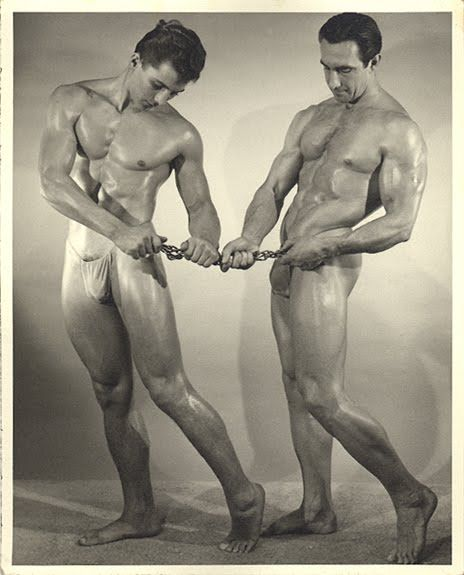 Steve Wengryn and Eddie Williams Posing