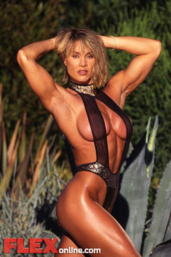 Corinna Cory Everson Posing