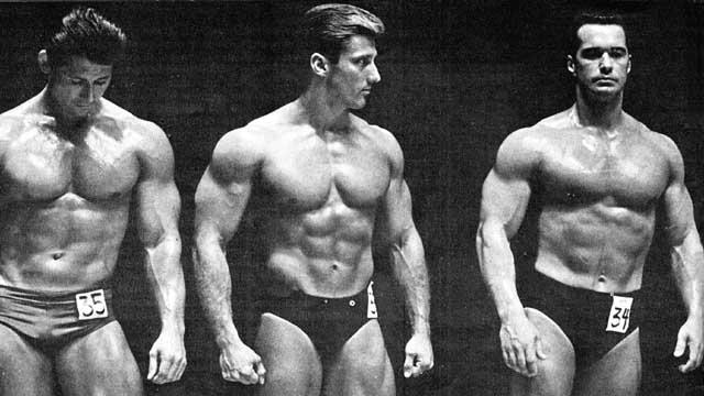 Don Howorth Frank Zane Chet Yorton Posing