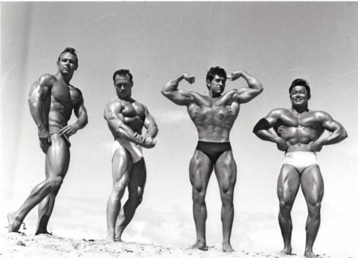 Irvin Zabo Koszewski Ray Schaefer Reg Lewis and Timmy Leong Posing