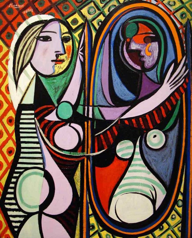Pablo Picasso Girl Before A Mirror