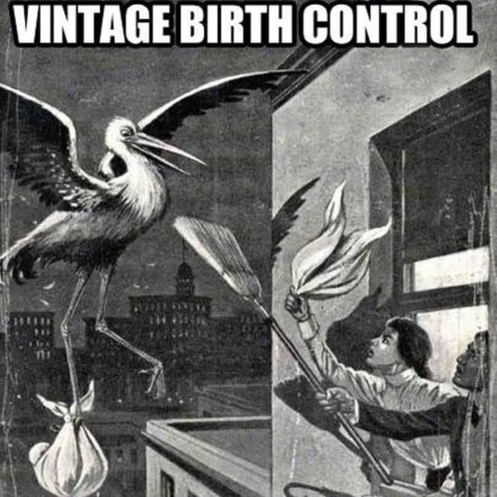 Vintage Birth Control