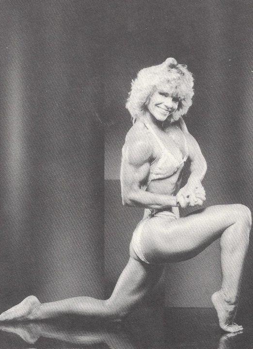 Dinah Anderson Posing