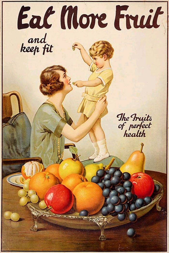 Eat Fruit by Joseph Bruno Moran 1920
