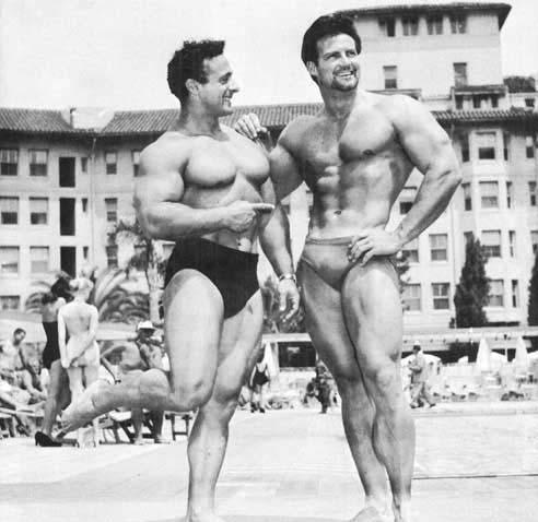George Eiferman and Steve Reeves Posing