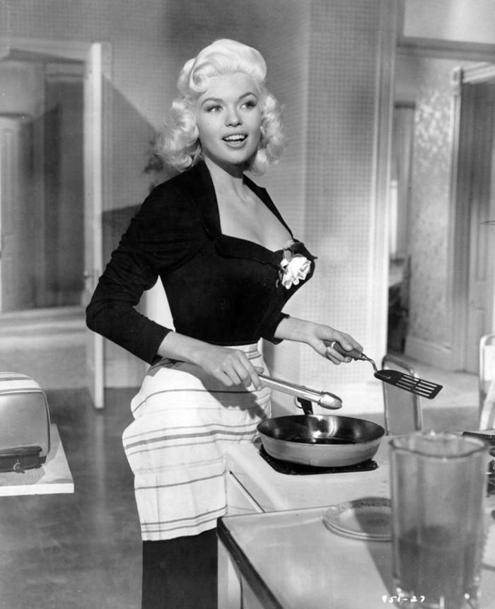 Jayne Mansfield Cooking Photography