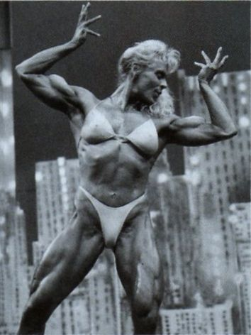 Dorothy Herndon Posing