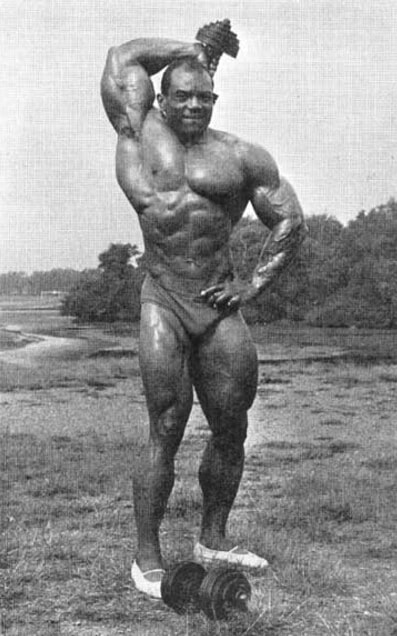 Sergio Oliva Training Triceps