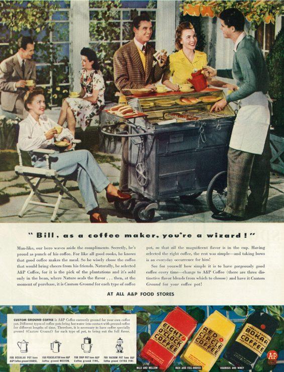 Vintage Coffee Ad 3