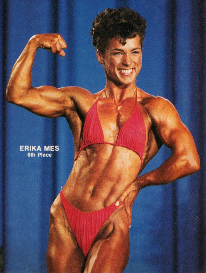 Erika Mes Posing