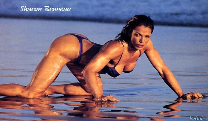 Sharon Bruneau Posing