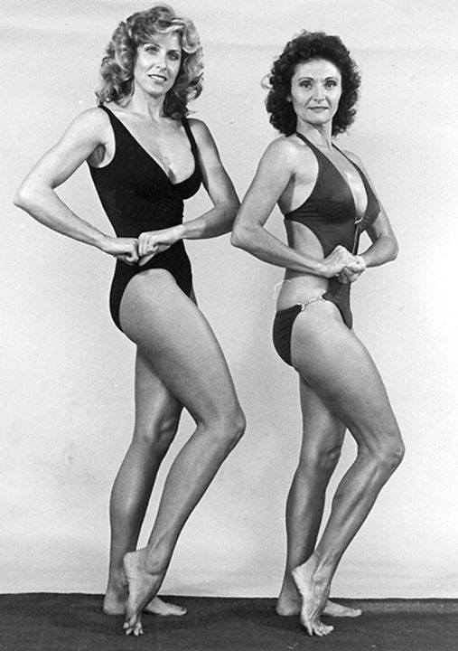 Georgia Fudge and Doris Barrilleaux Posing