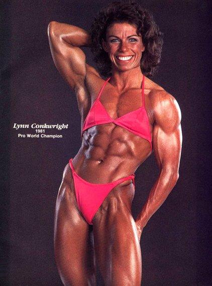 Lynn Conkwright Posing