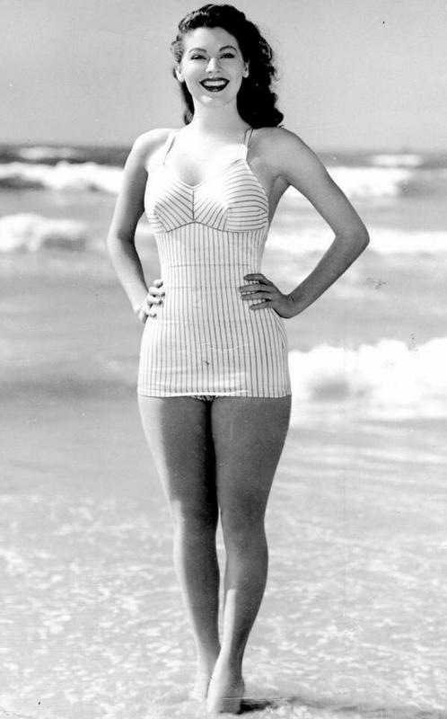 Ava Gardner Posing