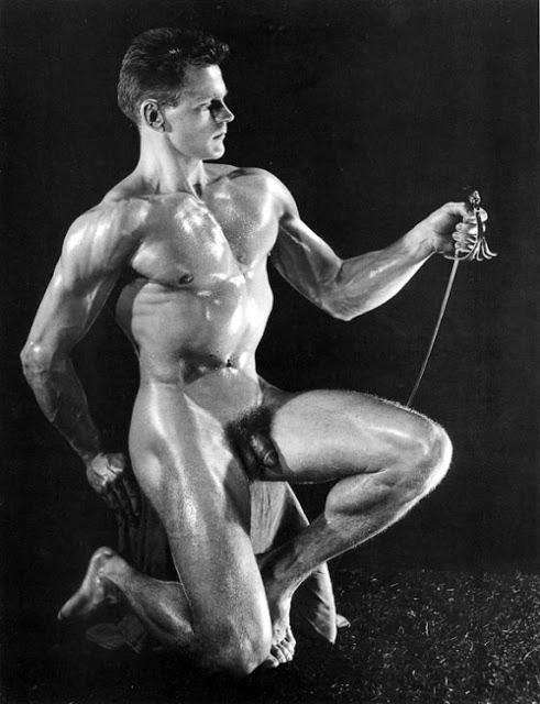 Earl Kirk Posing