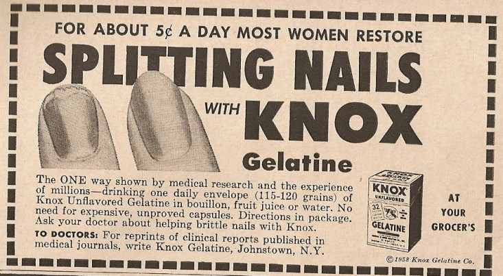 Gelatin Advertisement 4 Knox Gelatin