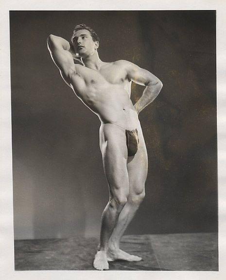 Jack Harris Posing