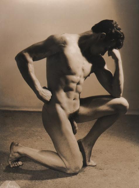 Jean Merlier Posing