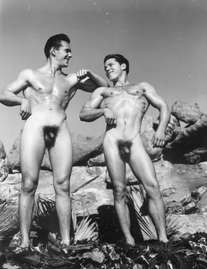 Johnny Stumps and Terry Shannon Posing