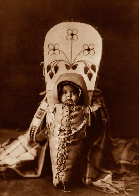Nez Perce Babe Photograph by Edward Curtis, 1911