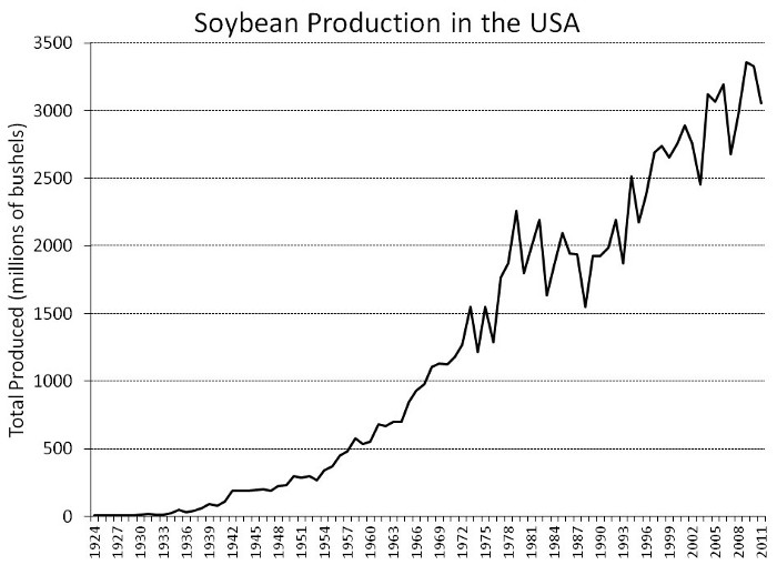 Soybean Production in the USA